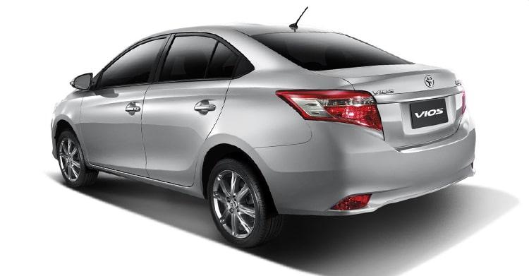 Ngoại thất xe Toyota Vios 2016