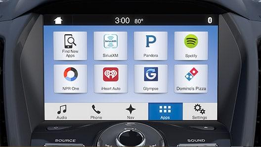 Bảng điều khiển SYNC®3 với chức năng điều khiển bằng giọng nói